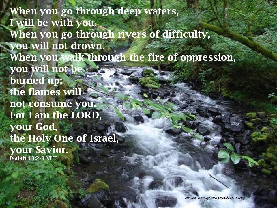 Isaiah 43 2-3